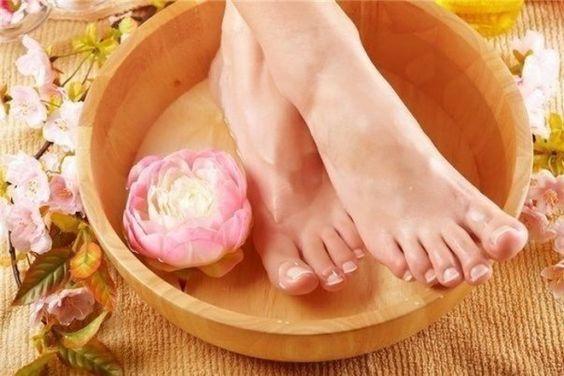 педикюр и распаривание ног