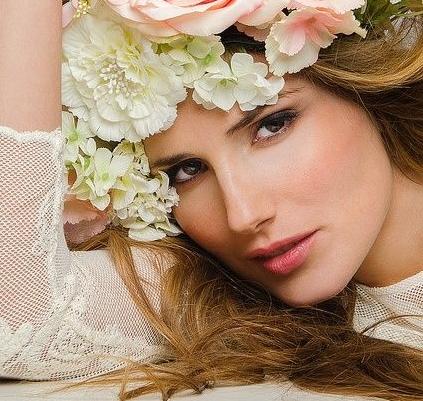 весенний макияж лица